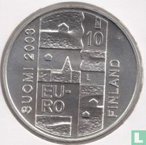 """Finland 10 euro 2003 """"200th anniversary Death of Anders Chydenius"""""""