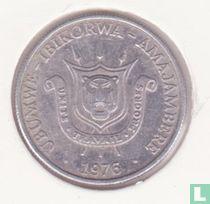 Burundi 1 franc 1976