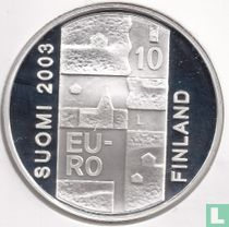 """Finland 10 euro 2003 (PROOF) """"200th anniversary Death of Anders Chydenius"""""""