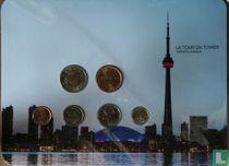 """Canada jaarset 2011 """"CN tower"""""""