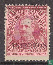 Ramón Bernardo Soto Alfaro gedruckt Correos