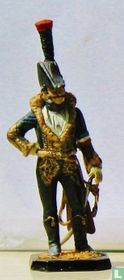 Staff Colonel of Hussars  Caron d'Hevilley 1801