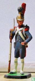Sapeur 1st or 2nd class, Winter dress 1811-15