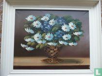 Olieverf schilderij uit 1950