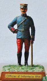 French Infantry Officer with stick 1914