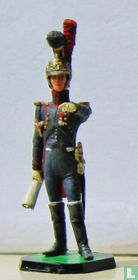 Officer Genie de la Garde, pointing