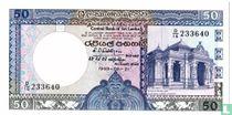 Sri Lanka 50 Rupees 1989