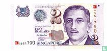 Singapore 2 Dollars (Millennium edition)
