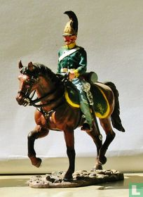Trooper, Russian Kinburn Dragoons, 1813