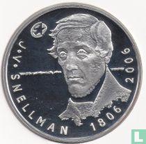 "Finland 10 euro 2006 (PROOF) ""200th anniversary Birth of Johan Vilhelm Snellman"""