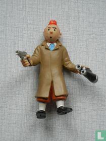 Tintin-Revolver + binoculars (varia)