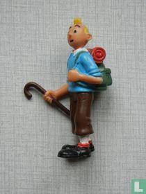 Tintin with walking stick (Miscellaneous 2)
