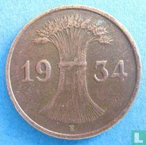 Duitse Rijk 1 reichspfennig 1934 (E)