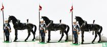 17th Lancers Dismounted at attention