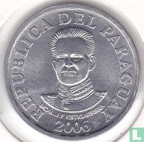 Paraguay 50 guaranies 2006