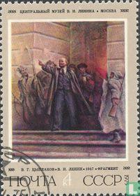 105e geboortedag van Lenin
