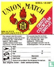 Union Match - gratis color film gratuit