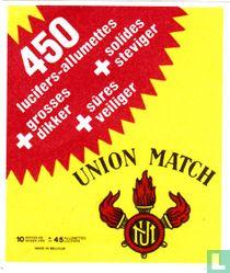 Union Match - 450 lucifers-allumettes