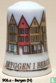Bergen (N) - Bryggen i Bergen