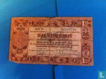 1 gulden 1938 zilverbon