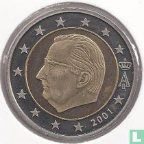 Belgium 2 euro 2001