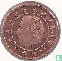 België 2 cent 2001