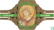 Constantijn de Grote, 286 - 337. Mozaiek