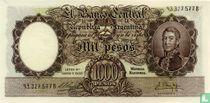 Argentinië 1000 Pesos 1955