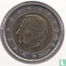Belgium 2 euro 2000