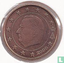 België 2 cent 2000