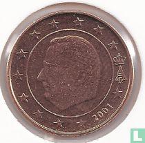 België 1 cent 2001