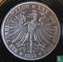 Frankfurt am Main 1 vereinsthaler 1859