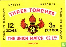 Three Torches 12 boxes
