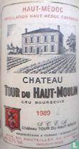Tour Du Haut Moulin 1989, Cru Grand Bourgeois