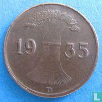 Duitse Rijk 1 reichspfennig 1935 (D)
