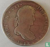 Mexico 8 reales 1813 (JJ)