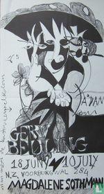 Gerrie Beuling - Tentoonstellingsaffiche, 1965