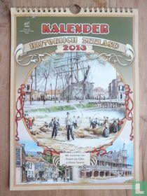 Kalender Historisch Zeeland 2013