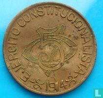 Mexico 5 centavos 1914 (brons)