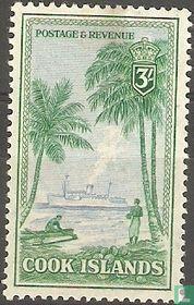 Frachtschiff 'Matua'