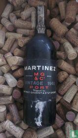 Martinez Vintage Port 1963