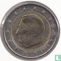 Belgium 2 euro 2004