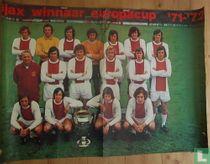 AJAX winnaar Europacup '71-'72
