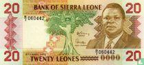 Sierra Leone 20 Leones 1988