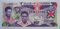 Ghana 10 Cedis 1984