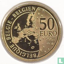 "Belgium 50 euro 2007 (PROOF) ""50 years Treaty of Rome"""