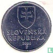 Slowakije 10 halierov 2000 kopen