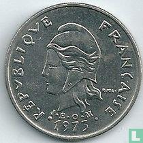 Frans-Polynesië 20 francs 1973