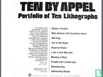 TEN BY KAREL APPEL. 10 lithographies originales!