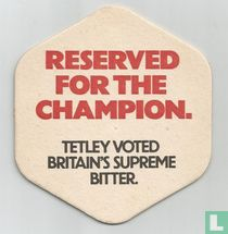Reserved for the champion